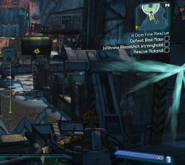 Borderlands 2 Launching A Dam Fine Rescue involves defeating Bad Maw.