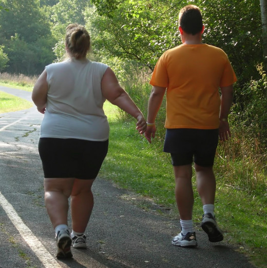 Walking is good for overweight people