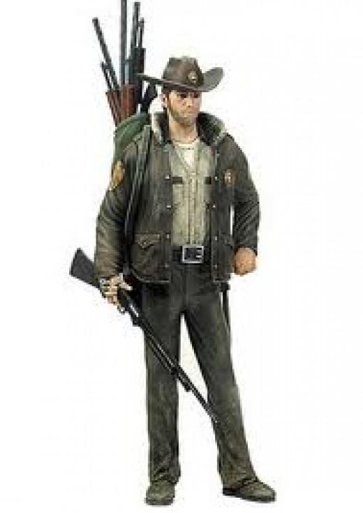 Officer Rick Grimes Comic Series 1