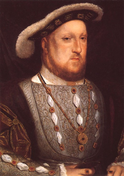 A portrait of Henry c.1536, four years before his marriage to Anne of Cleves.