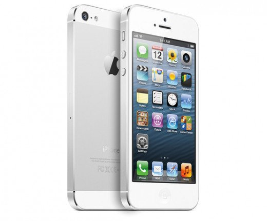 Apple iPhone 5 (white)