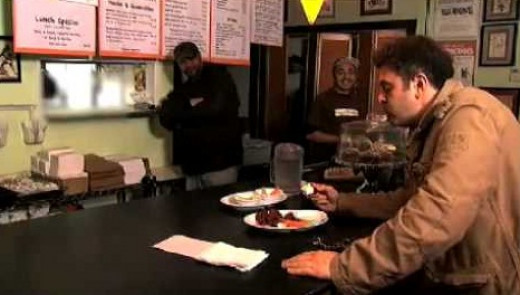 Adam takes on the fiery Suicide Hot Wings for the first time...and fails miserably.