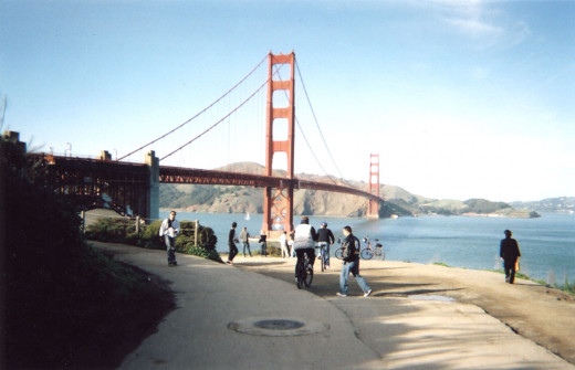 The Golden Gate Bridge, San Fransico, CA