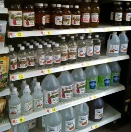 The Vinegar Aisle at K-mart