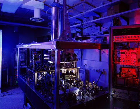 NIST-F1 Caesium Fountain Atomic Clock