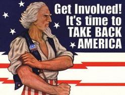 Here is a rugged Republican Uncle Sam guy ready to TAKE BACK AMERICA!