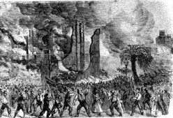 Draft Riots During the Civil War - That Looks about as un-America as can be!