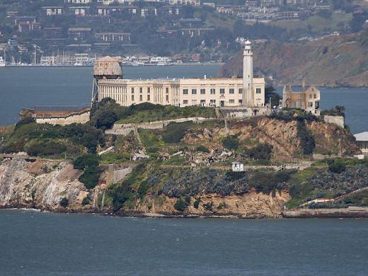 Alcatraz Island (photo by Jon Sullivan)