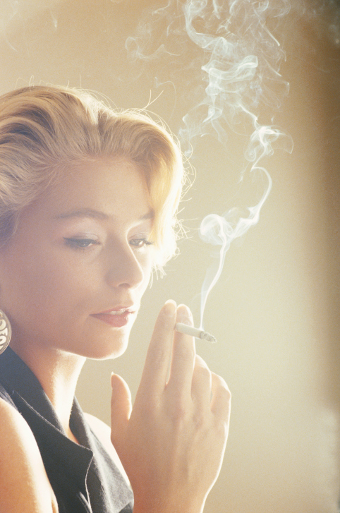 Picture of Woman Smoking