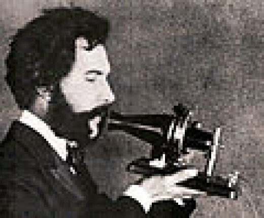 an actor playing Alexander Bell