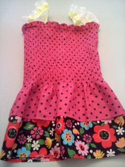 10-Minute Easy Patternless Girl's Dress