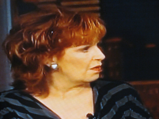 Joy Behar is one of the two original co-hosts of ABC's The View.