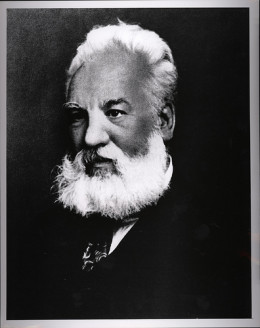 Alexander Graham Bell is credited with the invention of the first working telephone.