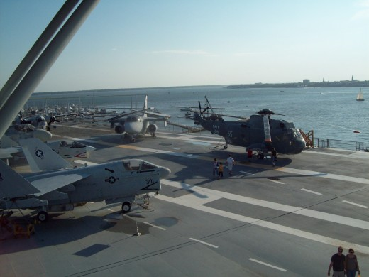 Flight Deck on the USS Yorktown