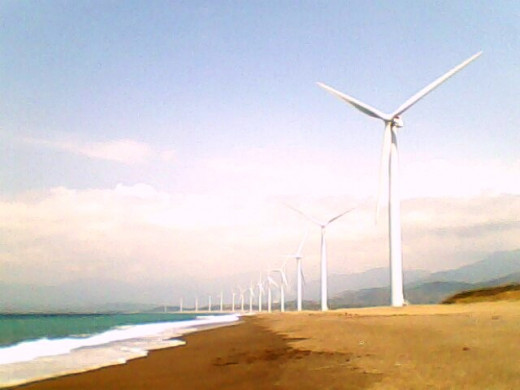 The Bangui Wind Turbines