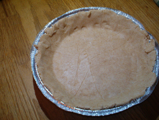 Whole wheat crust for the pot pie