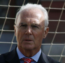 He is the 'Kaiser' (Emperor) of German's National Sport 'Fußball' (aka Soccer).