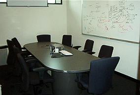 Set up the room ahead of time. Clear the conference table, make sure there's coffee on hand, and that the copier works.