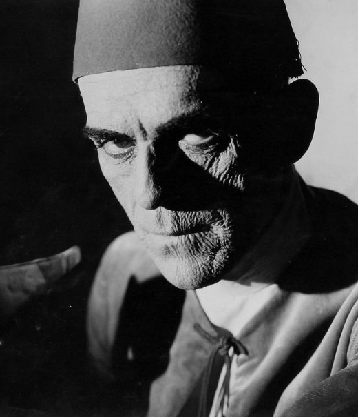 Boris Karloff in The Mummy (1932)