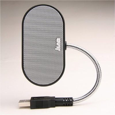 Laptop Speakers - USB, Portable, Compact, Travel Speaker for PC and Mac - B-Flex 2 Hi-Fi Stereo USB Speaker (Black)