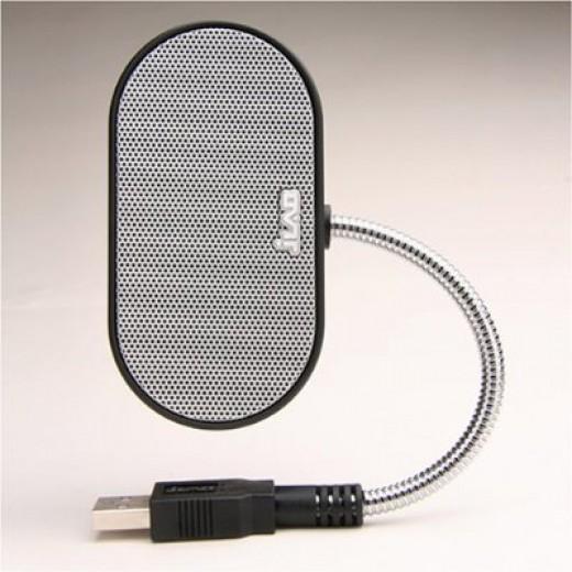 Laptop Speakers - USB, Portable, Compact, Travel Speaker for PC and Mac - B-Flex 2 Hi-Fi Stereo USB Speaker (Black)