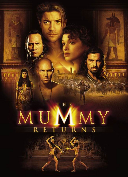 The Mummy Returns (2001) poster