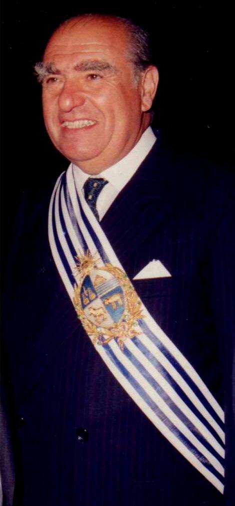 President Julio María Sanguinetti