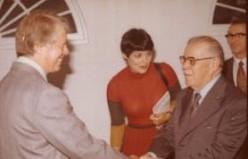 President Jimmy Carter and President Aparicio Méndez
