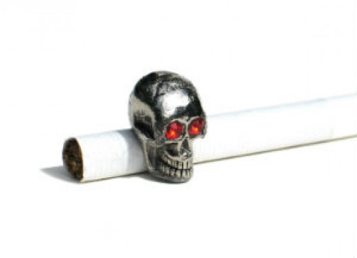 If you smoke commercial cigarettes and think you're only smoking tobacco and paper, think again!