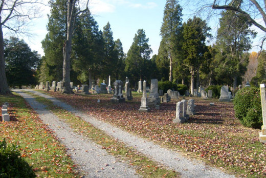 Cemeteries can offer kid-friendly activities.