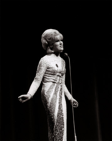 The glamorous, soulful Dusty Springfield in 1966.