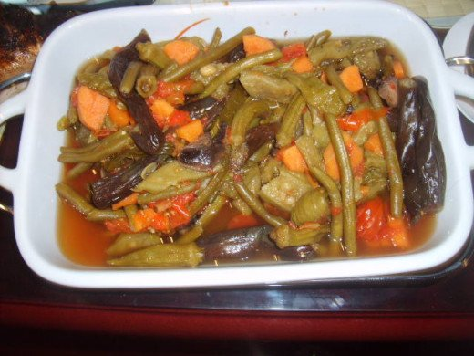Popular and favorite Ilocano dish-Pakbet