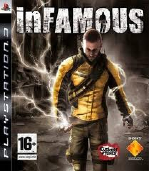 Infamous came out for the PS3 exclusively and has already had sequels. It's rated M for mature themes, blood and violence.