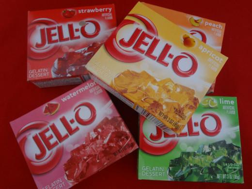 Jello comes in many fun new flavors!