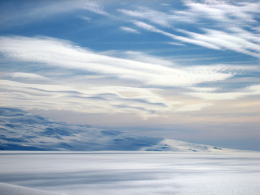 Cirrus Clouds are high, thin and wispy