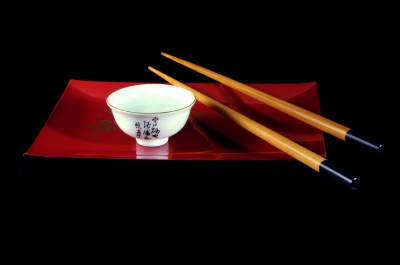 Decorative chopsticks can add a sense of class and style.