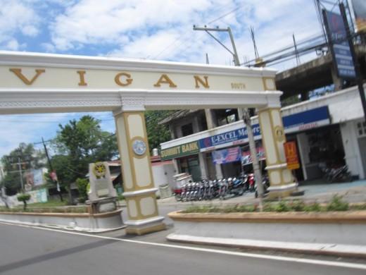 Vigan City arch