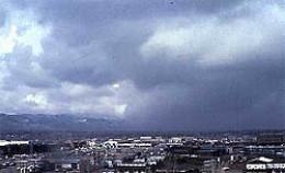 Nimbus clouds bring rain
