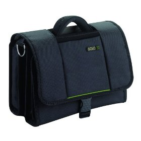 Solo TCA511-4 Tech Collection Netbook Mini Instant Messenger Bag (Black)