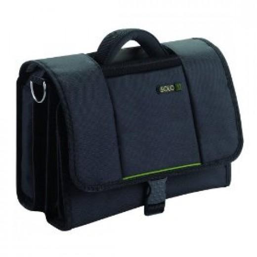 Solo TCA511-4 Tech Collection Netbook Mini Instant Messenger Bag (Black)