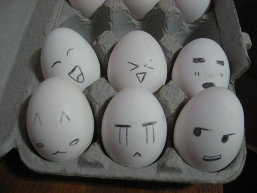 """Egg students in the Eggademy? Probably today's topic was """"Eggscaping The Pan 101."""""""
