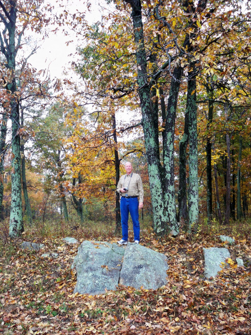 Gary enjoying the fall colors!