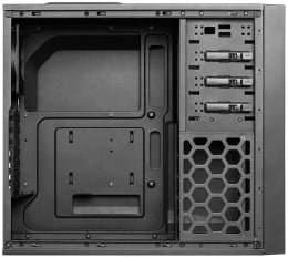 The inside of the Antec One, which i chose as the  case to use in this build.