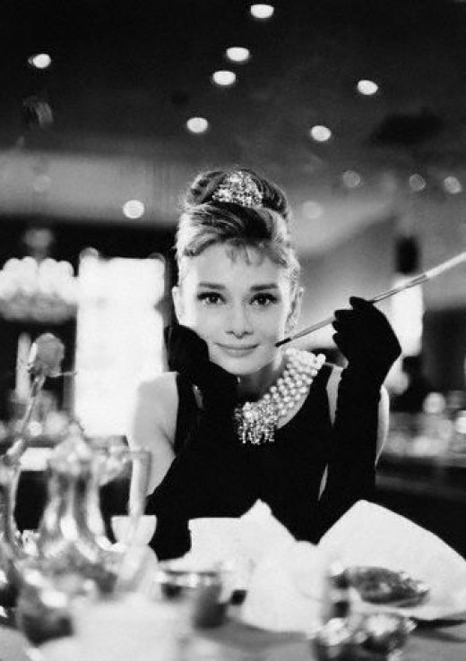 Audrey Hepburn kept her beauty her whole life. Older women can be beautiful too.