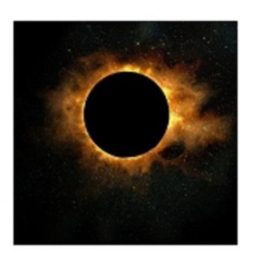 This Solar eclipse is an example of an annular eclipse.