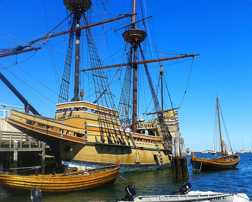 The Mayflower II, Plymouth, MA