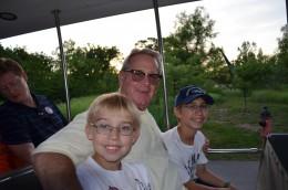 Grandpa at the zoo