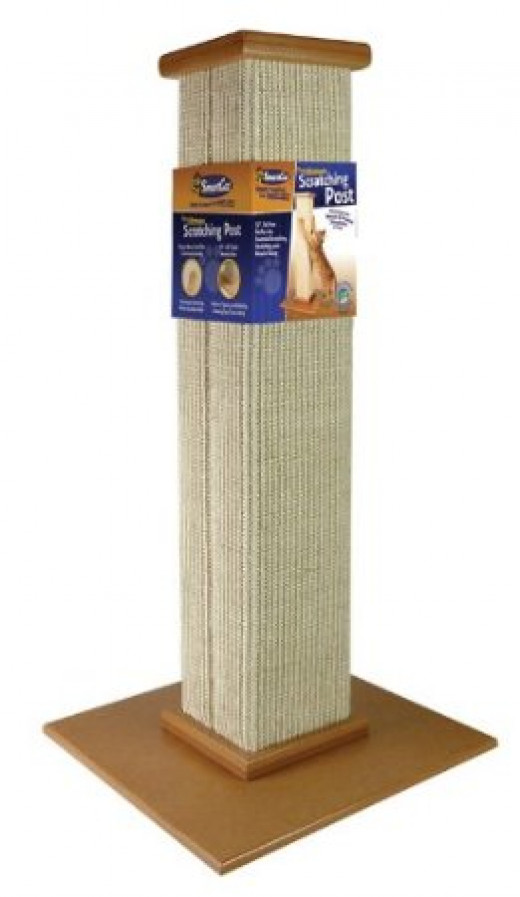 Ultimate cat scratching post