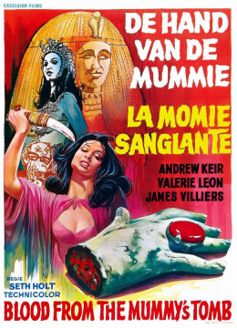 Blood from the Mummy's Tomb (1971) Belgian poster