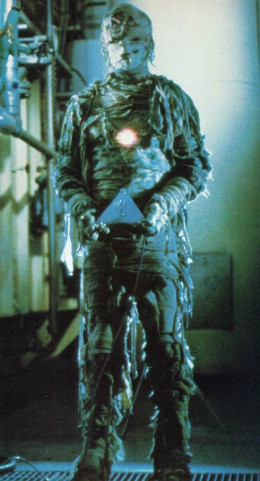 An alien mummy in Time Walker (1982)